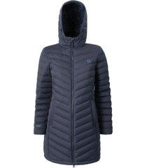 abrigo mujer lilit azul doite
