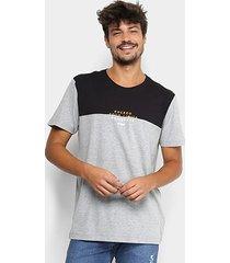 camiseta forum bicolor mescla masculina