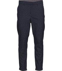 ask 958 kostymbyxor formella byxor blå plaîn