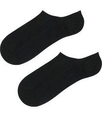 calzedonia cotton invisible socks man black size 34-36