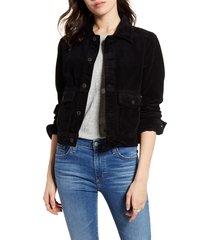 women's ag evonne crop corduroy jacket