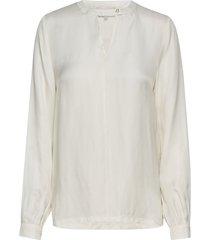 everly blouse blouse lange mouwen wit minus