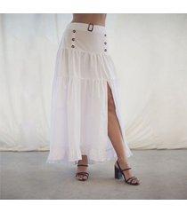 falda julia blanco