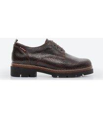 zapato casual mujer freeport z084 marrón