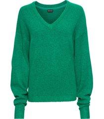 maglione oversize (verde) - bodyflirt