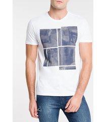 camiseta ckj mc metro ny - branco - pp