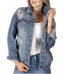 chaqueta nantes i azul divino jeans