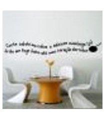adesivo de parede frase cozinhe com amor... - p 10x60cm