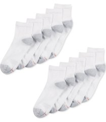 hanes men's 10-pk. cushioned ankle socks