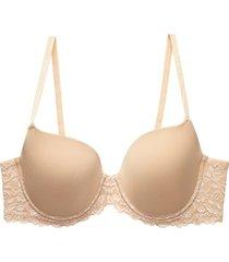 natori renew full fit contour bra, women's, beige, size 34g natori