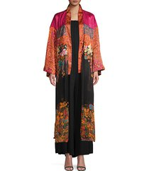 the young love floral kimono topper