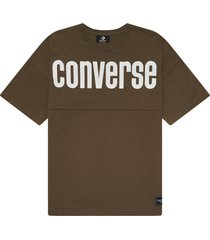 camiseta con cuello redondo converse all star