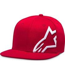 gorro corp snap rojo alpinestars