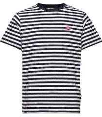 hawk t-shirt t-shirts short-sleeved wit forét