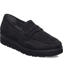 sport low shoe loafers låga skor svart gabor