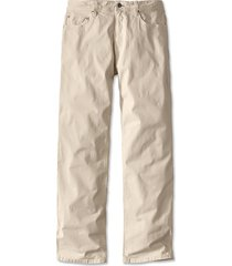 5-pocket stretch twill pants, stone, 42, inseam: 34 inch