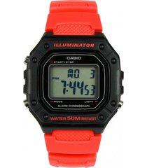 reloj deportivo multicolor casio