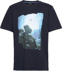 tnoah 4 t-shirts short-sleeved blå boss