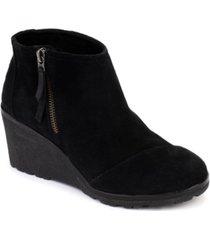 toms women's avery wedge booties women's shoes
