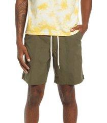 men's vans men's ever ride hybrid shorts, size 32 - green