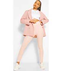 textured fitted legging, blush