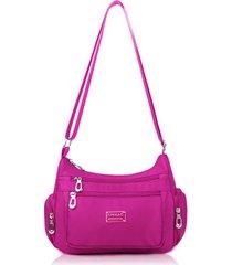 sacchetto di spalla impermeabile della borsa multi-chiusura a tracolla della borsa della traversa del sacchetto della borsa