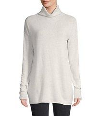 wool & cashmere turtleneck tunic