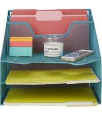 mind reader 5 tray desk organizer document holder