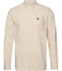 needle cord shirt overhemd casual beige lyle & scott