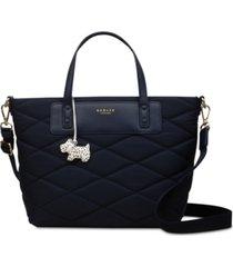 radley london charleston zip-top multiway satchel