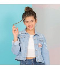 chaqueta en denim nauty blue 60617