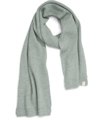 women's rag & bone pierce cashmere scarf, size one size - green