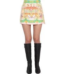 etro capri shorts