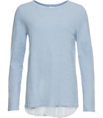 maglione con inserto (viola) - bodyflirt