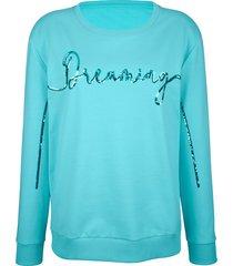 sweatshirt amy vermont lichtblauw