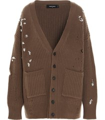 dsquared2 crystal sweater
