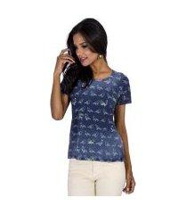 camiseta cantão birdsfeminino feminina