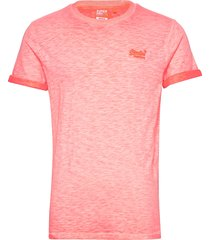 ol low roller tee t-shirts short-sleeved rosa superdry