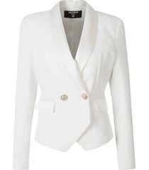 blazer with tuxedo lapel