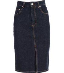 department 5 skirt high waist denim