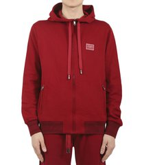 dolce & gabbana red hoodie