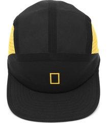 boné element locker preto/amarelo - kanui