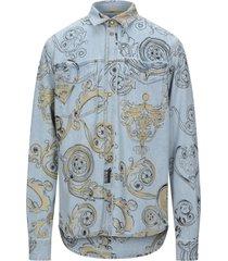 versace jeans couture denim shirts