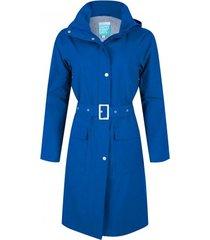 happyrainydays regenjas long coat bente blue-xxxl