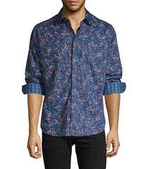 classic-fit jacquard shirt