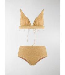 oséree lumière triangle lurex bikini
