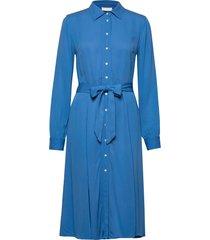 2nd limelight jurk knielengte blauw 2ndday