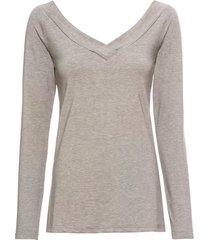 maglia a maniche lunghe (grigio) - bodyflirt