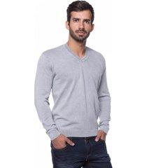 suéter basic le tisserand stone gelo - kanui