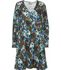 stellagz dress ms20 korte jurk multi/patroon gestuz